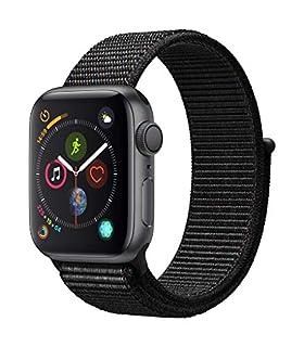 Apple Watch Series 4 (GPS, 40mm) Aluminiumgehäuse Space Grau - Sport Loop Schwarz (B07HBC9NFR) | Amazon price tracker / tracking, Amazon price history charts, Amazon price watches, Amazon price drop alerts