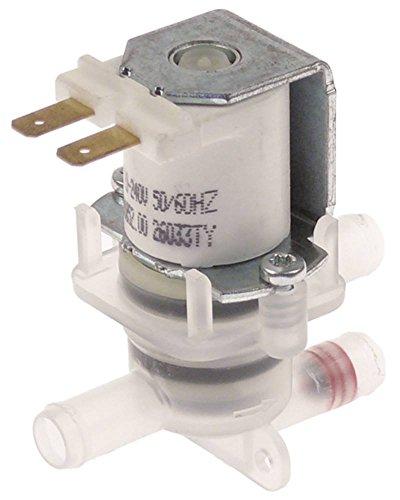 MILANO Magnetventil für Spülmaschine Colged Protech-811, Steeltech-360, Toptech-421, Dexion D500LS, D501LS 2-fach Ausgang 11mm