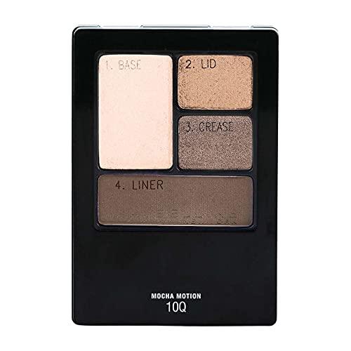 Maybelline New York Expert Wear Quads Eyeshadow, Mocha Motion [10Q] 0.17 oz (Pack of 2)