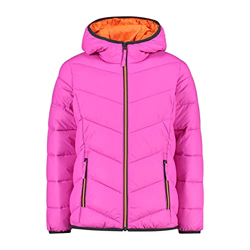 CMP Polyester jacket lateral logo, Girl, Purple Fluo, 128