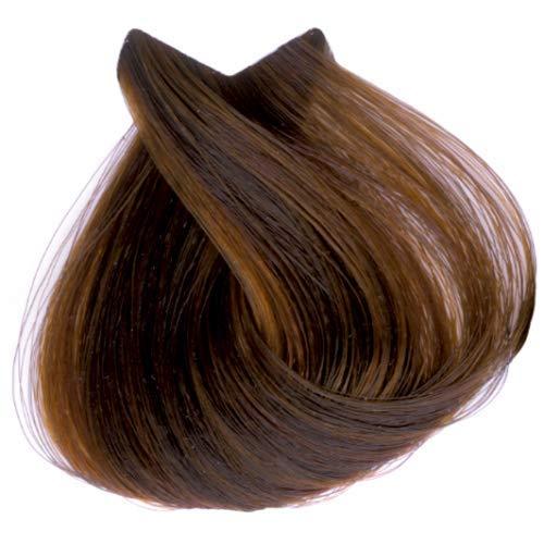 Tahe Organic Care Dauerhafter Farbstoff Haar-Farbe, Nein.7.46 Medium Copper Red blonde, 100 ml