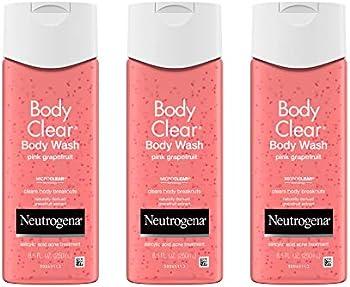 3-Pack Neutrogena Body Clear Acne Treatment Body Wash