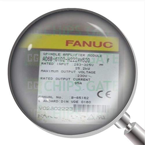 1 unids usado A06B-6102-H222#H520 servo amplificador probado