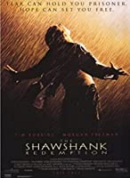 Shawshank Redemption Movie Cover Canvas Prints Poster Hd Print Wall Art Pictures Living Room Home Decor -50X75Cm Frameless