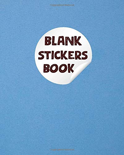 Blank Stickers Book: Mermaid Blank Sticker Album for sticker's lover's children toddler kid's girl's boy's and Adult's