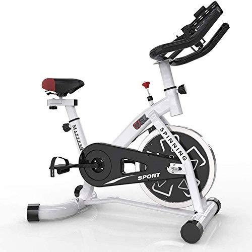 Bicicleta giratoria Bicicleta de Ejercicios para el hogar Bicicleta de Entrenamiento en Interiores Equipo Deportivo Dispositivo de Entrenamiento aeróbico Que se Puede Ajustar según