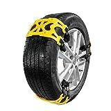 Medetai� 6pcs/Set TPU Car Snow Chains Universal Car Tyre Winter Roadway Safety Tire Chains