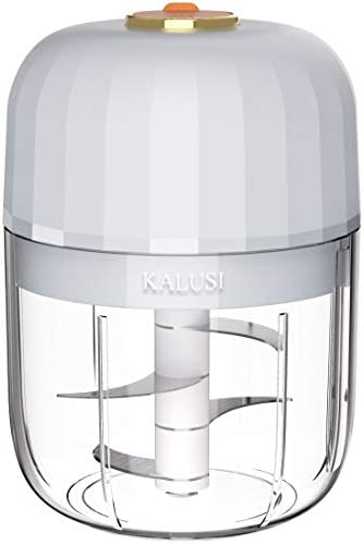 KALUSI Electric Mini Garlic Chopper Food Processor Wireless Chopper And Slicer Mincer Masher product image