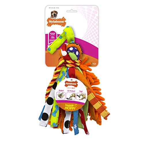 Nylabone Happy Moppy Interactive Dog Toy Medium