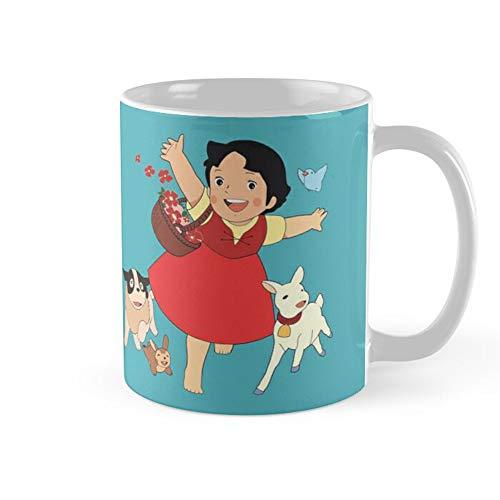 Heidi The Girl From The Alps Coffee Mug 11oz Ceramic Tea Cups