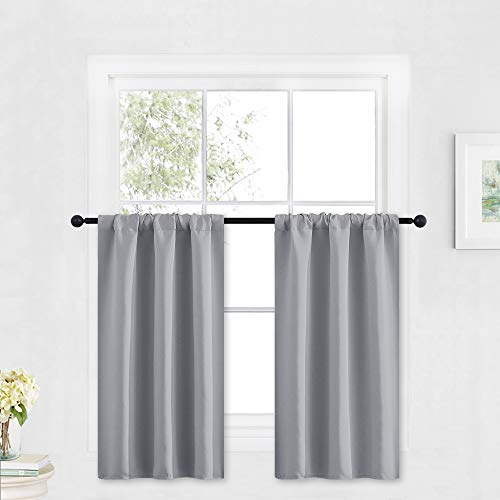 RYB HOME Small Window Curtains -...