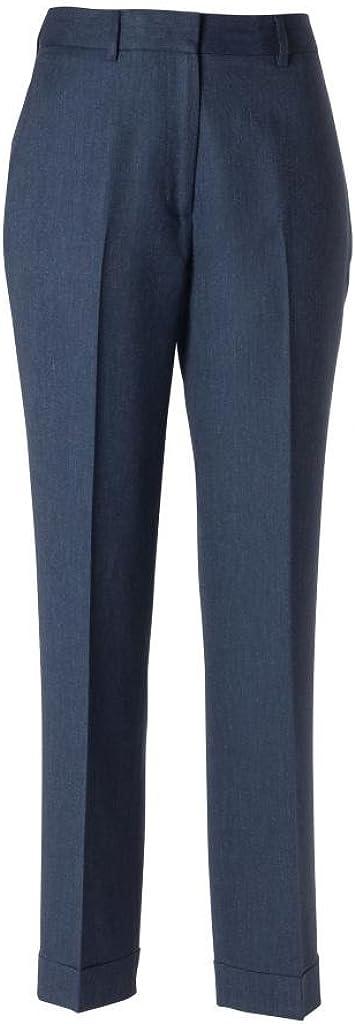 woolmaster Women's Wool/Silk/Linen Dress Pant