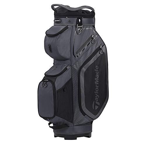 TaylorMade Cart 8.0 Bag, Charcoal/Black, Large