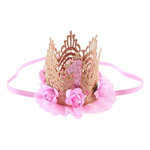 K-youth® Moda Diademas Bebé Niña Princesa Fiesta Elasticas Banda de