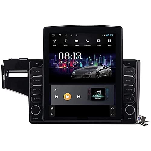 Android 9.1 Car Entertainment Multimedia Radio per Honda Fit Jazz LHD RHD 2014-2020 con Schermo Verticale da 9,7 Pollici, Supporto DSP FM AM/Navigazione GPS/chiamate in Vivavoce BT