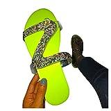 Aniywn Sandals for Women Dressy,Women's 2021 Comfy Platform Casual Sandal Shoes Summer Beach Travel Slipper Flip Flops Green