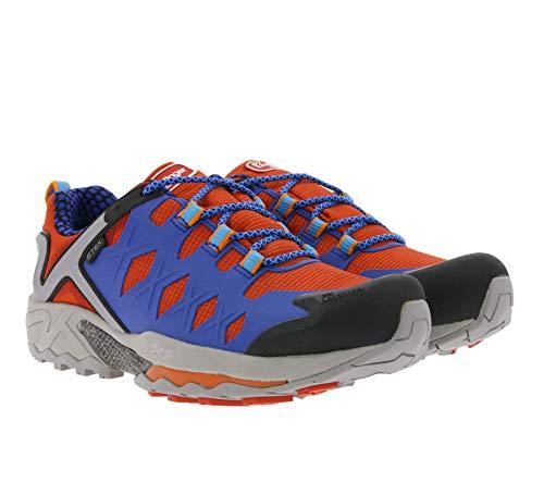 Kastinger Trekkingschuhe Approach Pro Sneaker hochklassige Wanderschuhe Herren Schuhe Outdoorschuhe Schnürschuhe Blau, Größe:41