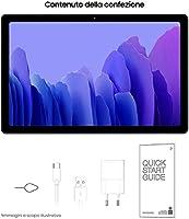 "Samsung Galaxy Tab A7 Tablet, Display 10.4"" TFT, 64GB Espandibili Fino a 1TB, RAM 3GB, Batteria 7.040 mAh, LTE, Android 10, Fotocamera Posteriore 8 MP, Dark Gray [Versione Italiana] #6"