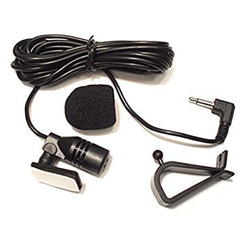 FuNion MainwaysSpace External Assembly Mic 3.5mm Microphone for Car Vehicle Head Unit Bluetooth Enabled Audio Stereo Radio GPS DVD