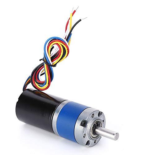 Motor sin escobillas Metal Gear DC 24V herramienta eléctrica para máquina de cuentas para máquinas de grabado para máquina pulidora(16RPM, Pisa Leaning Tower Type)