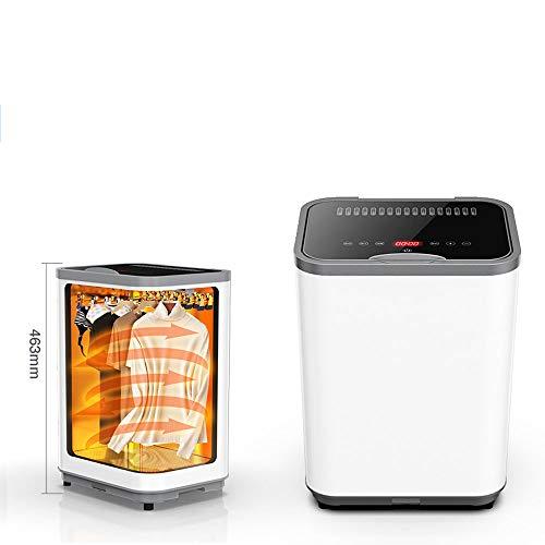ZJIAN elektrischer Wäschetrockner,trockner kondenstrockner,trockner wärmepumpen,geringer Platzbedarf,Edelstahl,fürs Badezimmer oder den Balkon