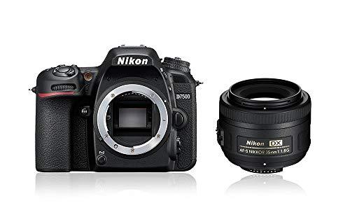 Nikon D7500 + AF-S DX NIKKOR 35mm Kit fotocamere SLR 20,9 MP CMOS 5568 x 3712 Pixel Nero