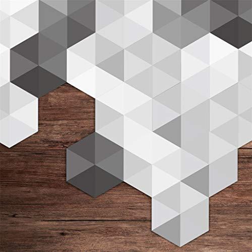 Mozaïek tegels folie zelfklevend, tegelstickers voor keukens, badkamers, 7.8×9in, mozaïek, decoratieve film, decoratieve tegellijm film voor wandtegels, mozaïek tegels behang voor badkamer 10 stuks