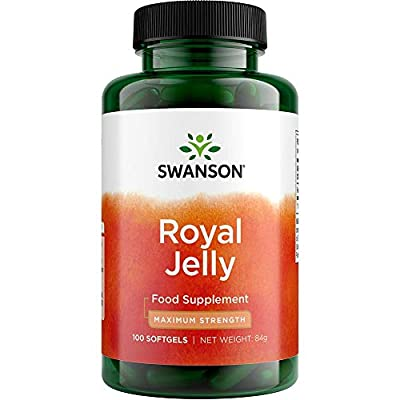Swanson Royal Jelly 1000mg, 100 Softgels