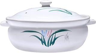 KJX Olla de cerámica, Arcilla, Transferencia de Calor rápida, Buen Rendimiento de Aislamiento, Resistente al Calor para Trabajo Pesado, Adecuado para Fiestas