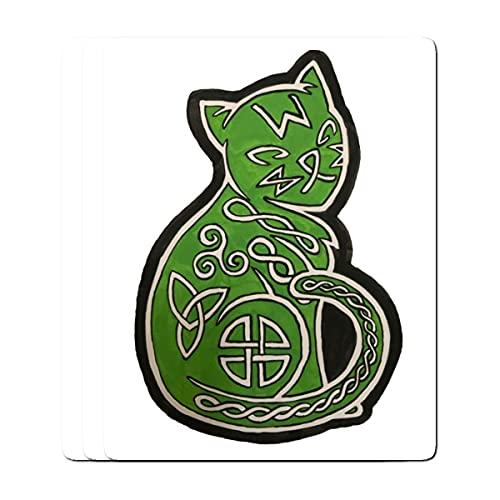 Stickers Pack 3, Vinyl Sticker for Adults Celtic Bike Wraith Laptop Kids Teens Journaling for Bumper Car Water Bottle Luggage Guitar Skateboard (3pcs/Pack)