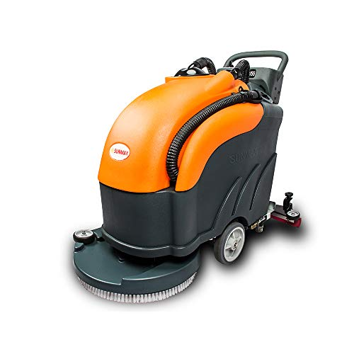 SUNMAX Electric Automatic Scrubber Power Floor...