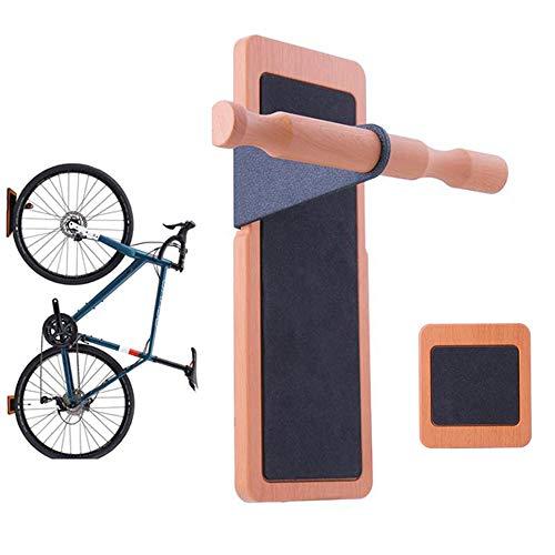 CARACHOME Fietsenrek, Fietshaakhouder Hanger Stand, Wandmontage, Ruimtebesparend, Geschikt voor het ophangen van fietsen, Ladders, Kleding