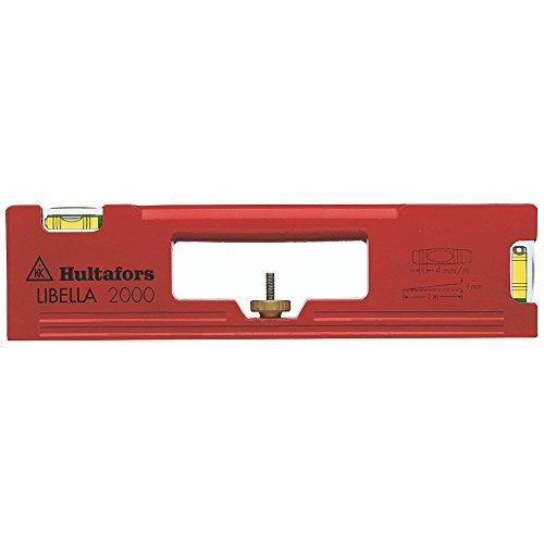 "Hultafors 407001 Wasserwaage Libella 2000\"", Rot"