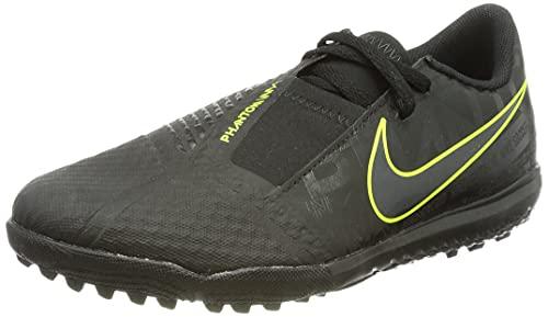 Nike Phantom Venom Academy Turf Fußballschuh, Schwarz Limegrün, 36.5 EU