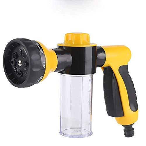 YUJIAN Multifunctional High Pressure Foam Water Gun Car Wash Water Gun Garden Water Gun Foamer Cleaning & Car Washing