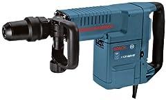 Bosch Yrkesmässig hammare GSH 11 E (med SDS-max, platt mejsel, 16,8 J slagenergi, 1 500 W, resväska)