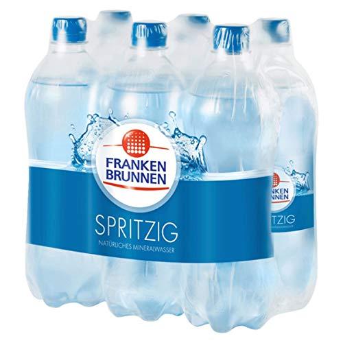 Franken Brunnen Mineralwasser Spritzig Einwegflaschen 750ml 6er Pack