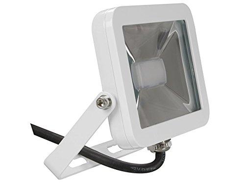 Perel Design Spot à LED 10 W, 19 x 6,5 x 14,5 cm, Blanc Chaud, leda4 01ww de W