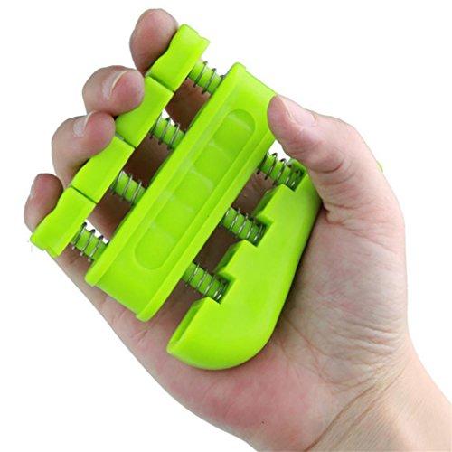 LMZZGAOYANQING Bidirezionale significa che la forza è dito in acciaio presa ginnico formazione di riabilitazione piccole attrezzature per il fitness , Yellow
