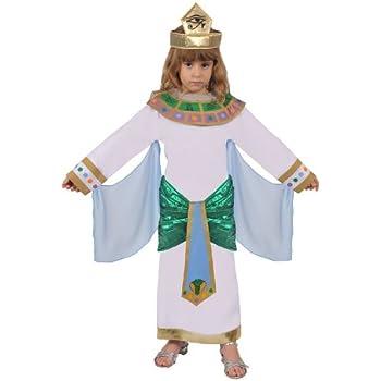 Dress Up America Disfraz de niña egipcia: Amazon.es: Juguetes y juegos