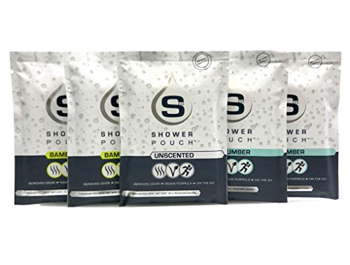 Shower Pouch Full-Body Wipes