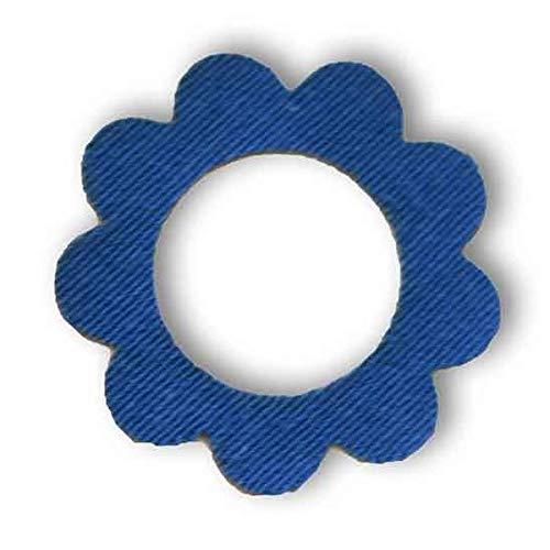 Freestyle Libre Fixierungstapes Blume (10 Stück) - Navy Blau | Diasticker®