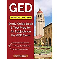 GED Preparation 2018 All Subjects: Exam Preparation Book & Practice Test Questions for the GED Test【洋書】 [並行輸入品]