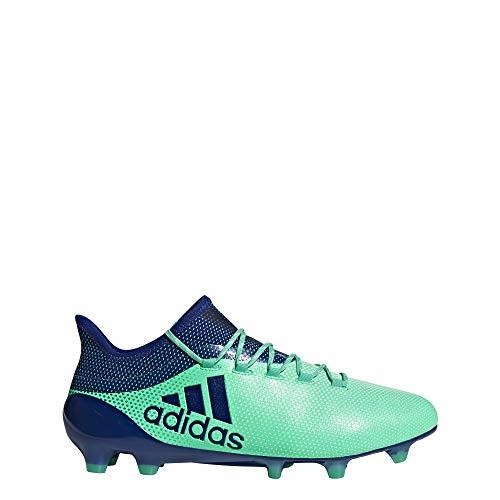 adidas Herren X 17.1 FG Fußballschuhe, Blau (Aerver/Tinuni/Vealre 000), 47 1/3 EU