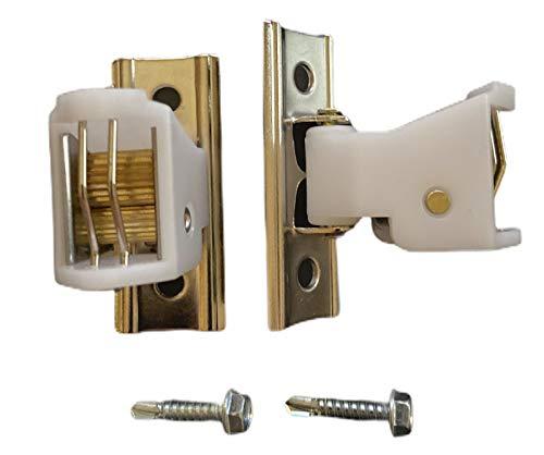 NCMORIN Qty. (2) Roman Shade Cord Lock with 3/4 Self Drill Screws - Window Blind Locks