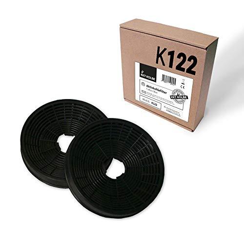 KKT KOLBE Filtre à charbon actif K122 pour ART/BICOLORE/CURVE/LIBERA/PASSO / SOLOx0S
