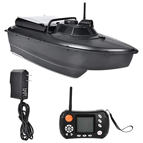 Tihebeyan Autopilot Fish Lure Boat, GPS Sonar RC Fishing Finder Boat Remote Control Wireless Fishing Lure Bait Boat with Night Light