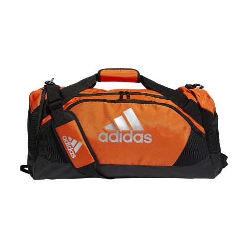 adidas Team Issue II Medium Duffel, Bolsa Unisex Adulto, naranja, talla única