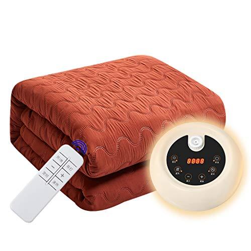 Cajolg Dsgjn Elektrische deken, 1 en 2 personen, watercirculatie, veilig en niet stralend, temperatuurbescherming, elektrische deken