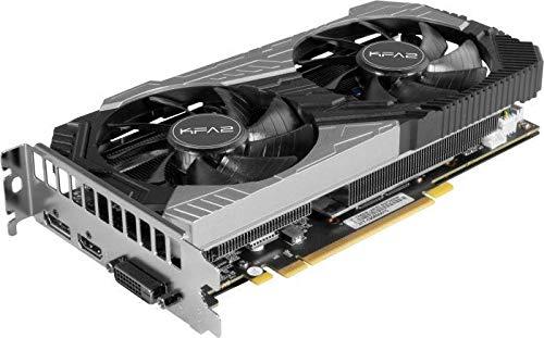 KFA2 GeForce RTX 2060 SUPER [1-Click OC] Grafikkarte 8GB GDDR6 - DisplayPort/HDMI/DVI, Bulk